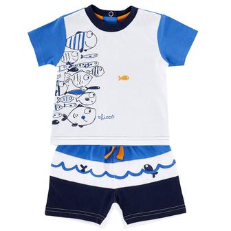 Костюм Fish: футболка и шорты