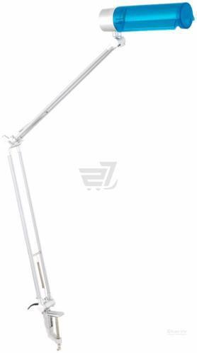Настільна лампа офісна Accento lighting 1x20 Вт E27 білий із синім ALH-T-TBU-HD2001B;HD2001B