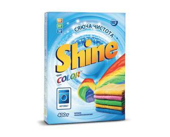Порошок пральний Shine автомат Color, 400г