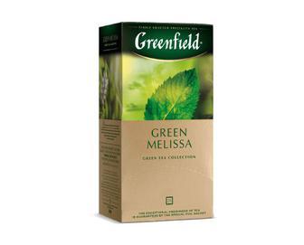 Чай Greenfield Green Melissa, 25 пак