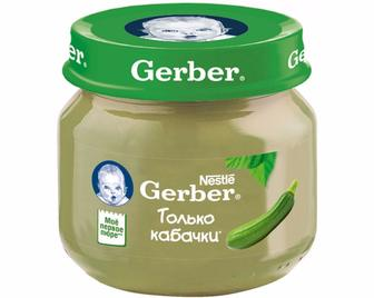 Пюре Gerber, 80г