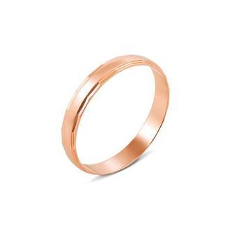 Обручальное кольцо классическое. Артикул 10157-375