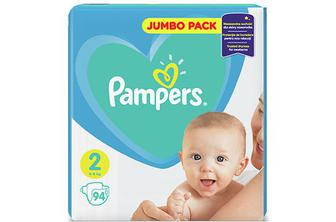Підгузки Pampers Mini 4-8 кг, 94 шт./уп