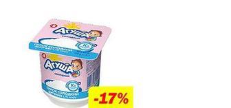 Творожок детский сладкий 4,1%, Агуша, 100г