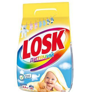 Стиральный порошок Losk Дитячий 2.4 кг