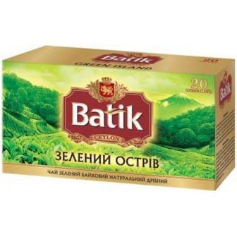 Чай Batik Зелений Острів 25 шт