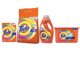Порошок для автоматичного прання 450г/ 2,4кг/2,5 кг Рідкий порошок 1,235 л, капсули для прання 12х24,8 г