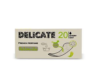 Прокладки щоденні Palomita Delicate French Perfume Every Day, 20шт./уп