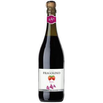 Винo ігристе Vene Al Vento Fragolino червоне солодке 0.75л