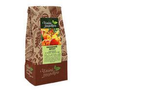 Чай чорний Нахабний фрукт, Чайні шедеври, 100г