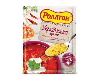 Приправа Роллтон, Українська кухня, 80 г