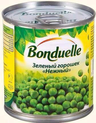 Консервированный Горошек Бондюэль 200 г
