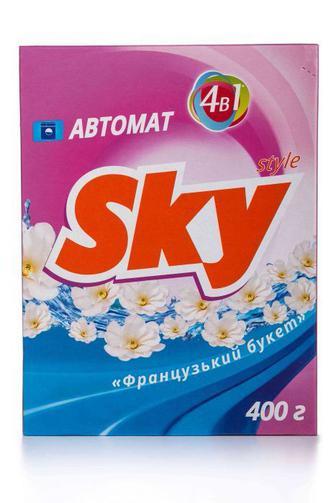 Стиральный порошок Sky Style автомат Универасальный, 400г