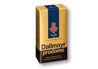Скидка 28% ▷ Кава Prodomo смажена, мелена, натуральна «Dallmayr» - 500 г