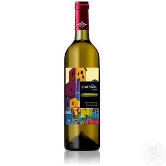 Вино Cartaval Совіньйон Блан біле сухе 0,75л