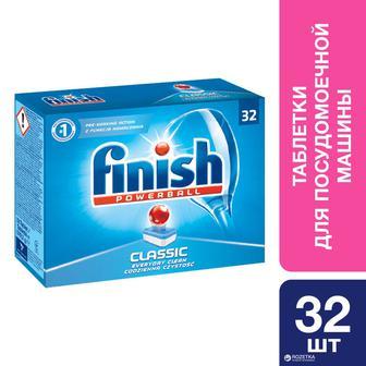 Таблетки для посудомоечных машин Finish Classic 32 шт