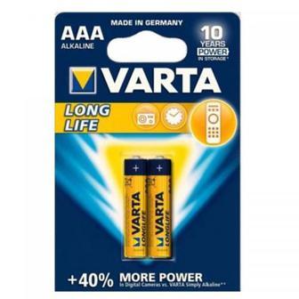 Батарейка ААA Varta Longlife 2шт в блистере