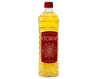 Олія соняшникова, Стожари, рафінована, 0,87 л