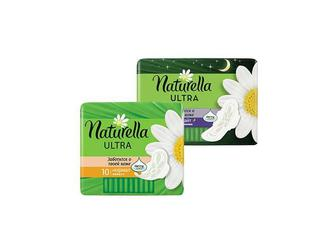 Прокладки гігієнічні Ultra Camomile Night, 7 шт. Ultra Camomile Normal, 10 шт. Naturella