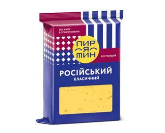 Скидка 27% ▷ Сир «Пирятин» 50% жиру «Російський класичний» 160г