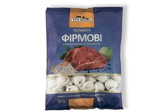Пельмені Фірмові зі свининою та яловичиною Три Ведмеді 0,8 кг