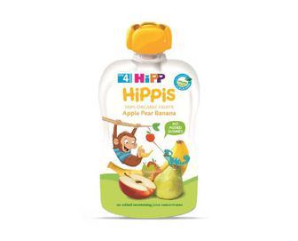 Пюре Hipp яблуко-груша-банан, 100г