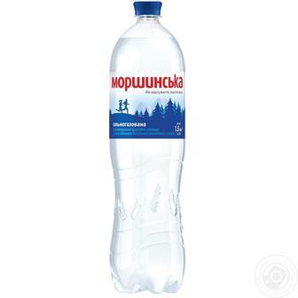 Вода мінеральна сильногазована Моршинська 1,5 л