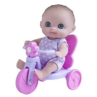 Пупс Малыш с велосипедом JC Toys (4105014)