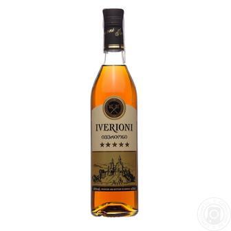 Бренди Iverioni 5* 0.5 л