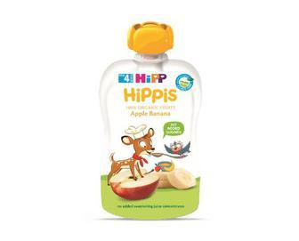 Пюре Hipp яблуко-банан, 100г
