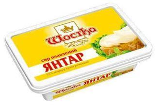Сир Шостка Янтарь 180г