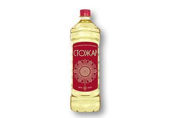 Олія сoняшникoва, рафінoвана Стожар 0,87 л