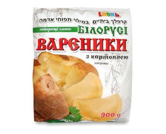 Скидка 37% ▷ Вареники Laska «Найкращі смаки Білорусі» з картоплею, 900г