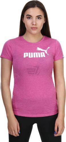 Футболка Puma ESS No.1 Tee Heather W р. XS рожевий