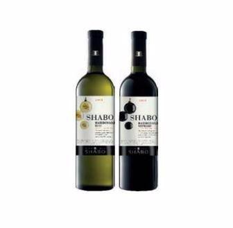 Вино біле або червоне напівсолодке Shabo 0,75 л