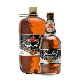 Пиво Полтава Жигулевское светлое 4.4%об. 1.5л