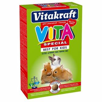 Vitakraft Vita Special Vario Best for Kids Корм специальный для крольчат 600 г
