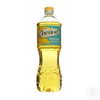 Олія соняшникова Пресова Олейна раф. 0,5л