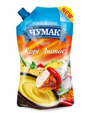 Соус Карі Ананас Чумак Україна 200г