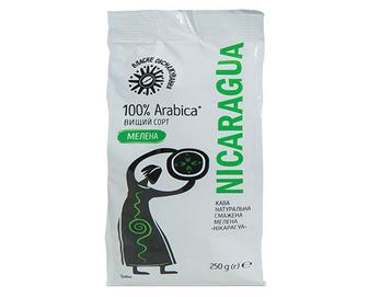 Скидка 30% ▷ Кава смажена мелена «Нікарагуа» 250г