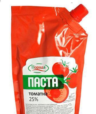Паста томатна 25% Порада 350г