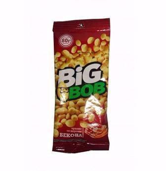 Арахіс солоний або з беконом  Big Bob 70г