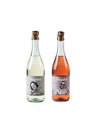 Напій на основі вина Бьянко білий, або Розато рожевий Фраголіно 0,75л