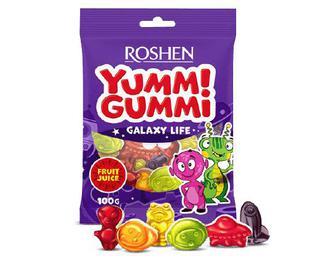 Цукерки Roshen желейні Yummi Gummi Galaxy Life, 100г