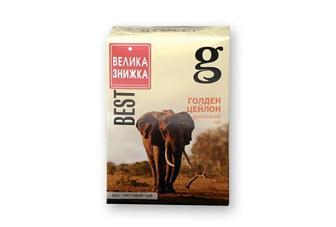 "Чай чорний Голден Цейлон, Граф Грей з бергамотом  ""Grace!"", 100г"