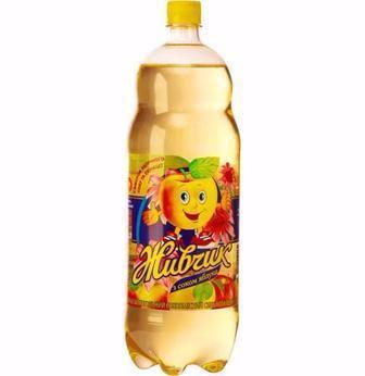 Напій  апельсин або яблуко  Живчик 1.5 л