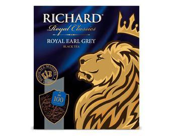 Чай чорний Richard Royal Earl Grey, 100×2 г/уп