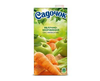 Сік «Садочок» яблучно-морквяний, 0,95 л