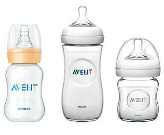 Детские бутылочки для кормления AVENT