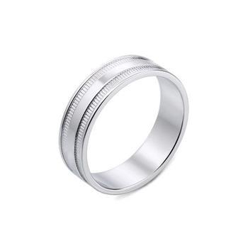 Обручальное кольцо с алмазной гранью. Артикул 10170/02/1